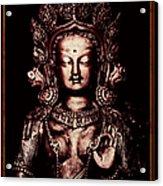 Buddhist Tara Deity Acrylic Print by Tim Gainey