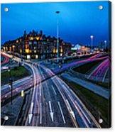 Charing Cross Glasgow Acrylic Print by John Farnan