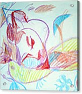 Charity Acrylic Print by Anita Dale Livaditis