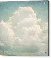 Cloud Series 3 Of 6 Acrylic Print by Brett Pfister