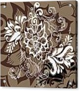 Coffee Flowers 10 Acrylic Print by Angelina Vick