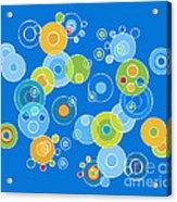 Colorful Circles Acrylic Print by Frank Tschakert