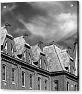 Cornell College Bowman Carter Hall Acrylic Print by University Icons