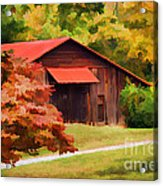 Country Charm Acrylic Print by Darren Fisher