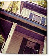Creepy Old House Acrylic Print by Jill Battaglia
