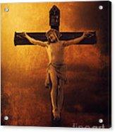 Crucifixcion Acrylic Print by Jelena Jovanovic