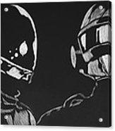 Daft Punk Acrylic Print by Trevor Garner