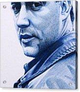 Dave Matthews  Acrylic Print by Joshua Morton