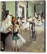 Degas, Edgar 1834-1917. The Dancing Acrylic Print by Everett