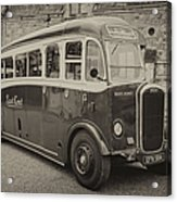 Dennis Lancet Vintage Bus Acrylic Print by Steev Stamford