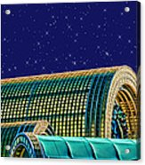 Destination By Night Acrylic Print by Wendy J St Christopher