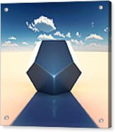 Dodecahedron Acrylic Print by Marc Orphanos