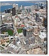 Downtown San Diego Acrylic Print by Bill Cobb