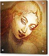 Ecstasy Acrylic Print by Ananda Vdovic
