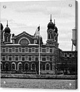 Ellis Island New York City Acrylic Print by Joe Fox