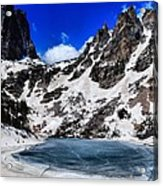 Emerald Lake In Rocky Mountain National Park Acrylic Print by Dan Sproul