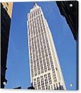 Empire State Building Acrylic Print by Jon Neidert