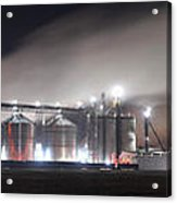Ethanol Plant In Watertown Acrylic Print by Dung Ma