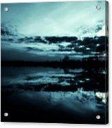 Full Moon Acrylic Print by Jaroslaw Grudzinski