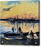Gogh, Vincent Van 1853-1890. The Acrylic Print by Everett