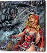 Grimm Fairy Tales 01 Acrylic Print by Zenescope Entertainment