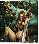 Grimm Fairy Tales Presents Black Diamond Exclusives Acrylic Print by Zenescope Entertainment