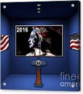 Hillary 2016 Acrylic Print by Marvin Blaine