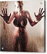 Hot Shower Acrylic Print by Jt PhotoDesign