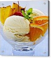 Ice Cream Acrylic Print by Elena Elisseeva