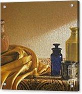 Inspired By Vermeer Acrylic Print by Barbara Groff