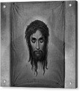 Jesus Christus Acrylic Print by Edward Fielding