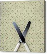 Knives Acrylic Print by Joana Kruse