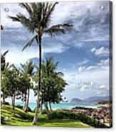 Ko Olina Lagoon Acrylic Print by Gary Smith