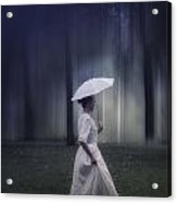 Lady In The Woods Acrylic Print by Joana Kruse