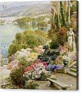 Lake Maggiore Acrylic Print by Ebenezer Wake-Cook