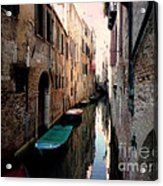 L'aqua Magica  Acrylic Print by Micki Findlay