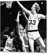 Larry Bird Acrylic Print by Retro Images Archive