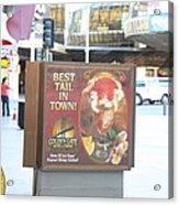 Las Vegas - Fremont Street Experience - 12128 Acrylic Print by DC Photographer