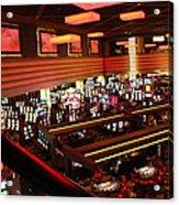 Las Vegas - Planet Hollywood Casino - 12123 Acrylic Print by DC Photographer
