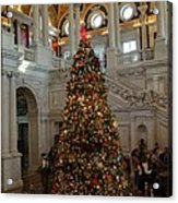 Library Of Congress - Washington Dc - 01138 Acrylic Print by DC Photographer