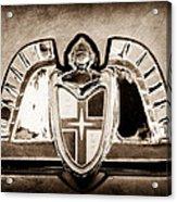 Lincoln Emblem Acrylic Print by Jill Reger