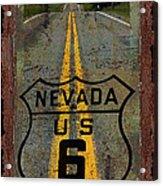 Lost Highway Acrylic Print by John Stephens
