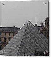 Louvre - Paris France - 01133 Acrylic Print by DC Photographer
