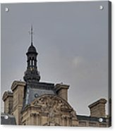 Louvre - Paris France - 01135 Acrylic Print by DC Photographer