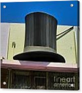 Magic Hat Acrylic Print by Gregory Dyer
