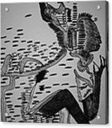 Mbakumba Dance - Zimbabwe Acrylic Print by Gloria Ssali