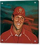 Michael Schumacher Acrylic Print by Paul Meijering