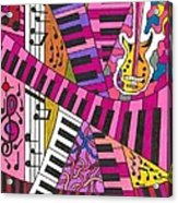 Musical Wonderland Acrylic Print by Maverick Arts