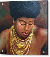 Naomi Acrylic Print by Dominic Giglio