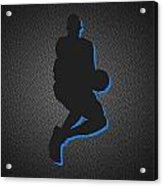New York Knicks Acrylic Print by Joe Hamilton